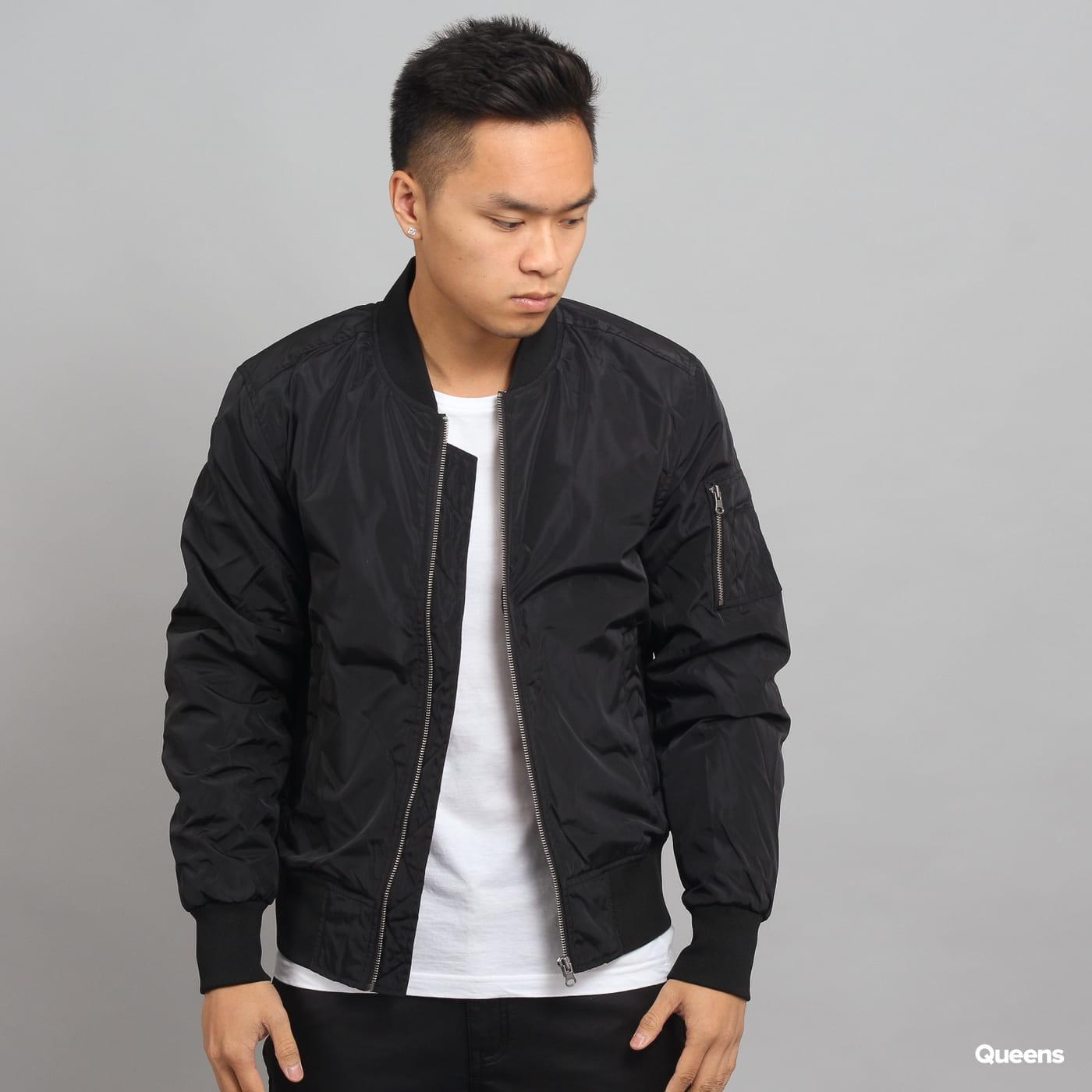 Urban Classics 2-Tone Bomber Jacket čierna