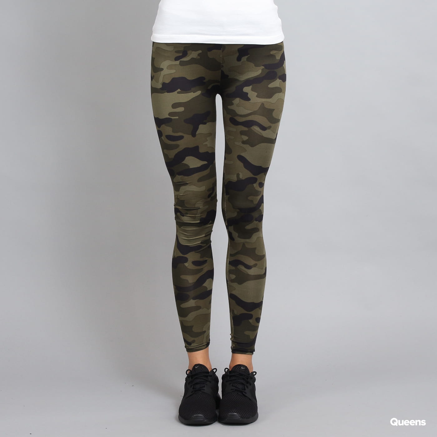 Urban Classics Ladies Camo Leggings camo grün