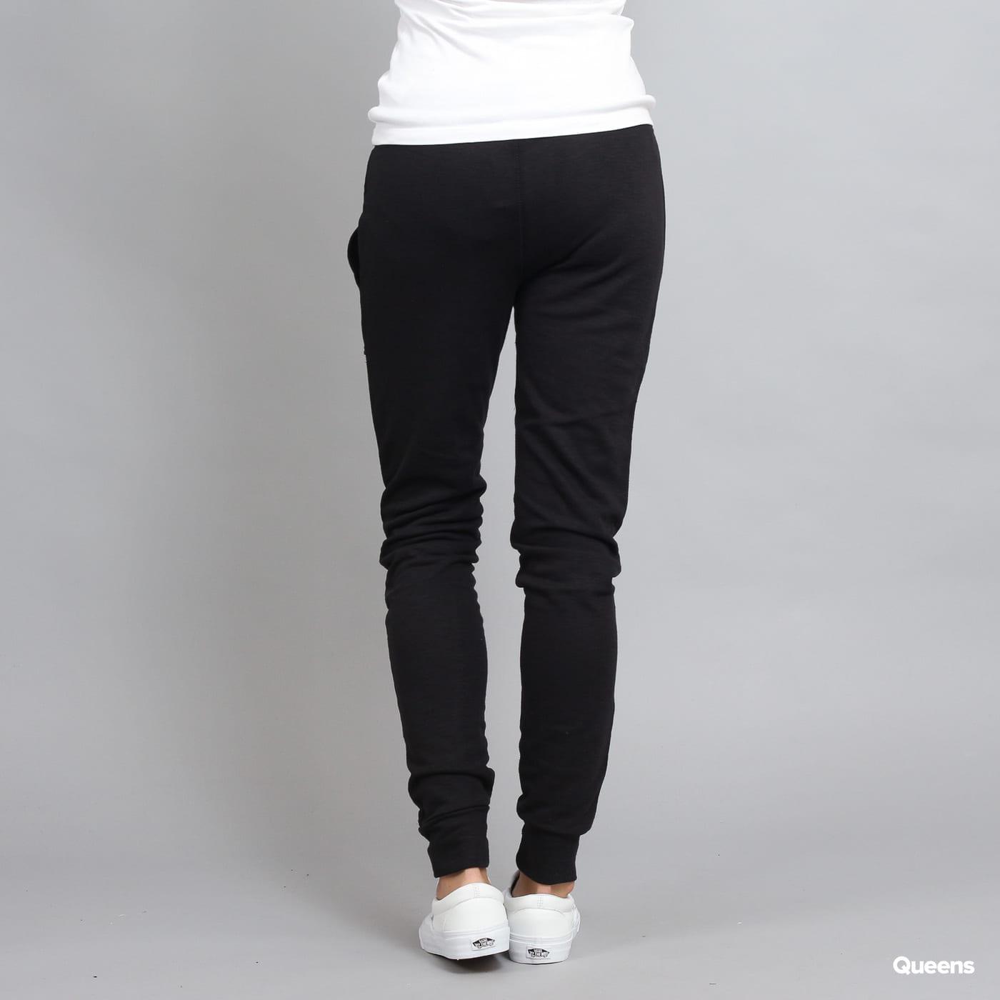 Urban Classics Ladies Fitted Slub Terry Pants schwarz