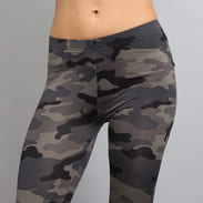 Urban Classics Ladies Camo Leggings camo šedé
