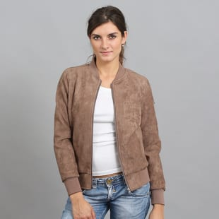 Urban Classics Ladies Imitation Suede Bomber Jacket
