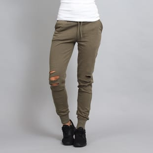 Urban Classics Ladies Cutted Terry Pants