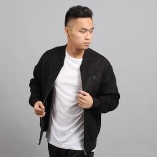 Urban Classics Imitation Suede Raglan Bomber Jacket