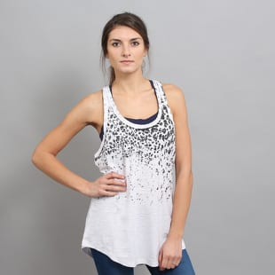 Urban Classics Ladies Long Leo Print Loose Tank