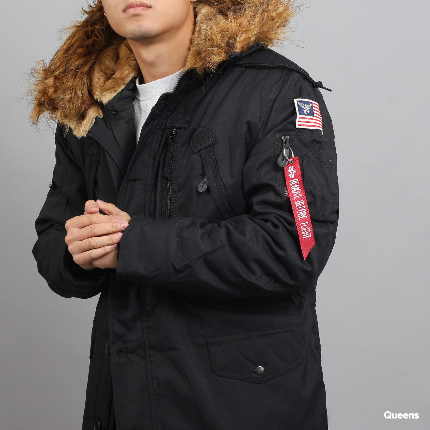 Alpha Industries Polar Jacket čierna