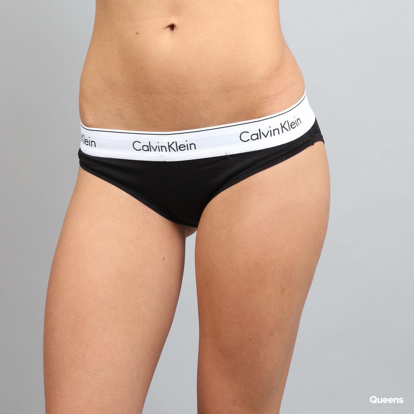 Calvin Klein Women's Bikini - Slip C/O čierne