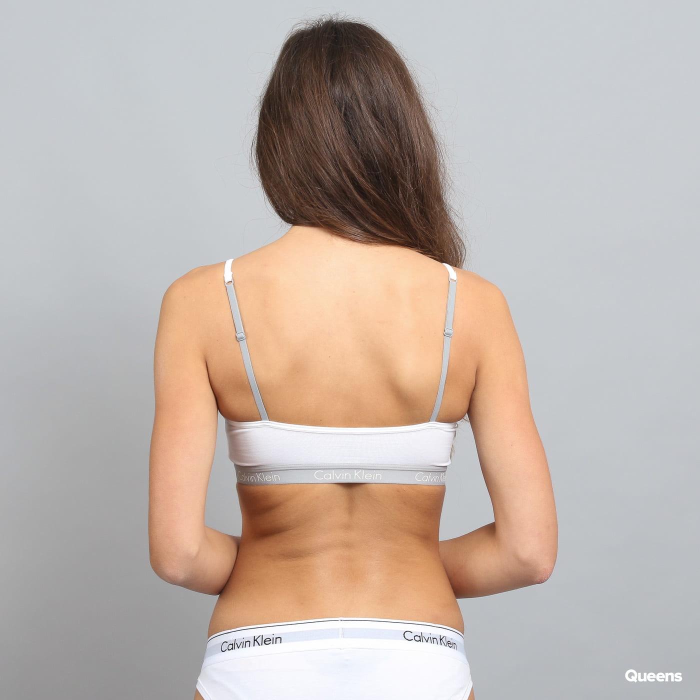 Calvin Klein Women's Bralette weiß / grau