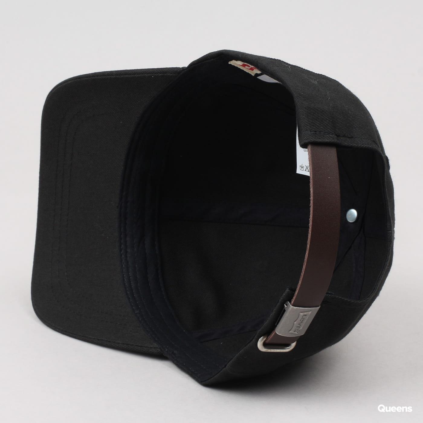 Levi's ® Classic Twill Red Tab Baseball Cap čierna
