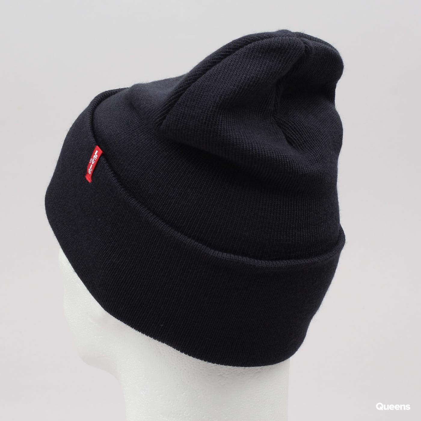 Levi's ® Slouchy Red Tab Beanie navy