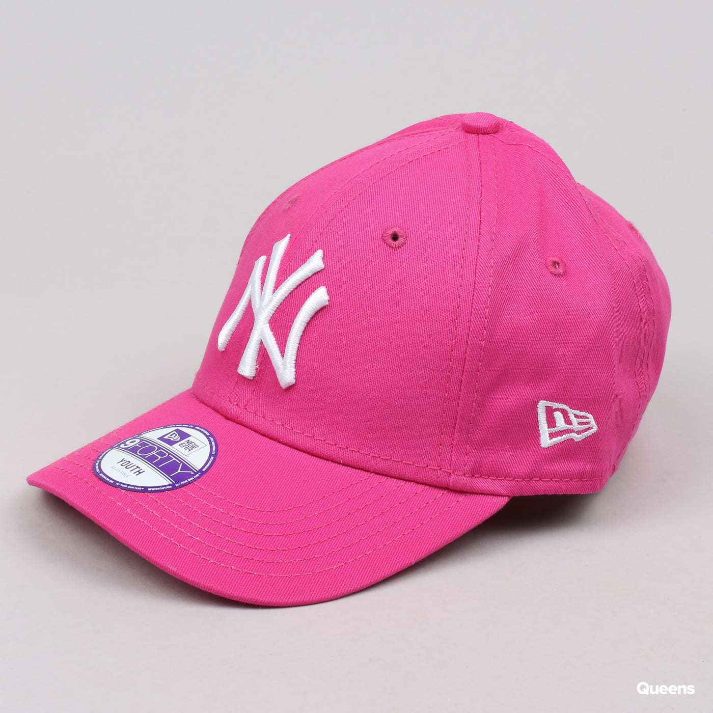 New Era Kids 940K MLB League Basic NY C/O ružová