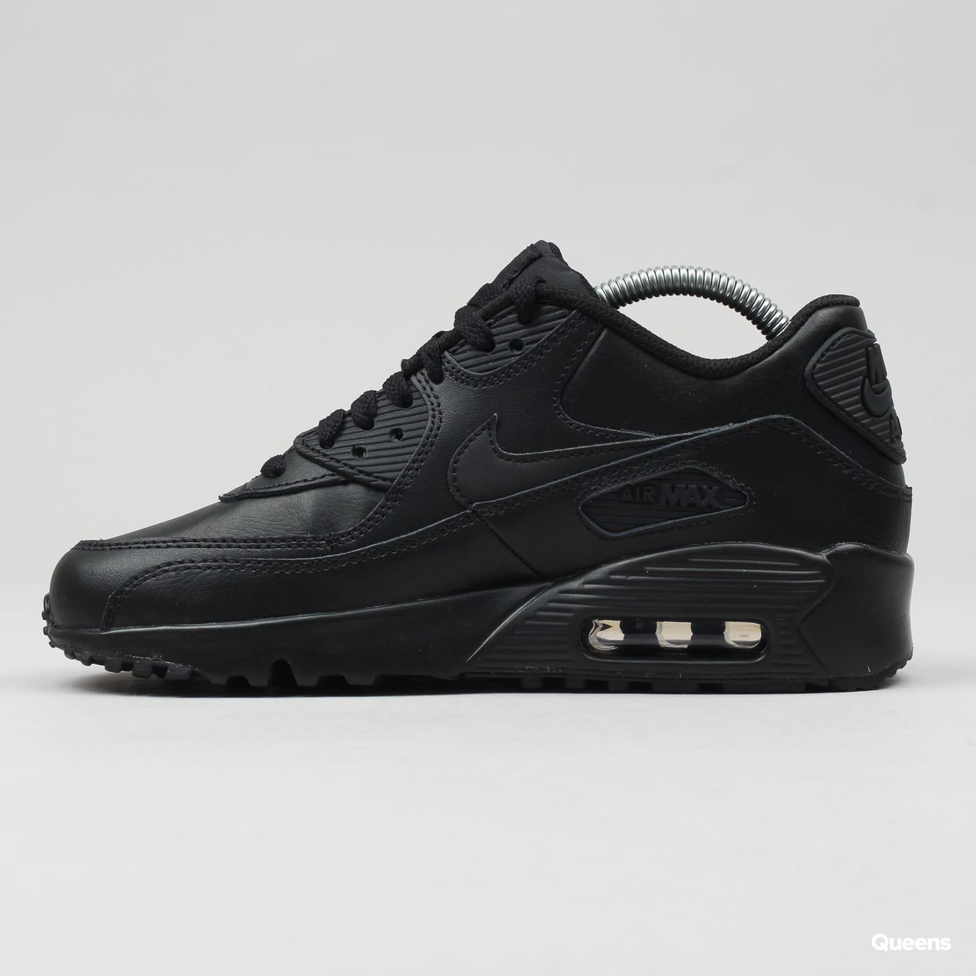 Nike Air Max 90 Leather (GS) black / black