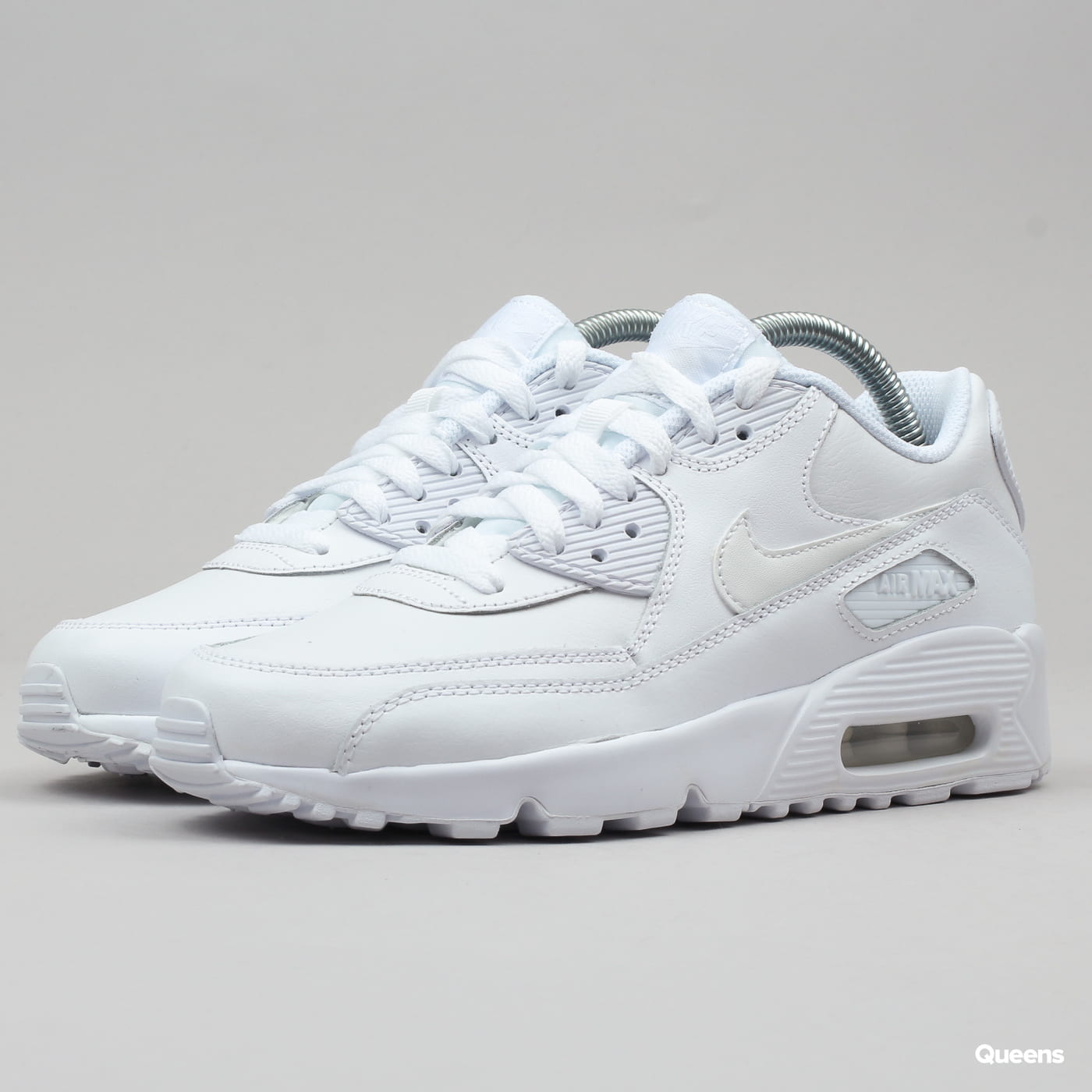 Nike Air Max 90 Leather GS Wit 833412 100 | Kicksshop.nl
