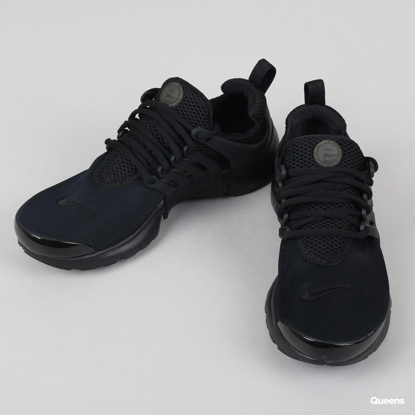 Nike Presto (GS) schwarz / schwarz - schwarz