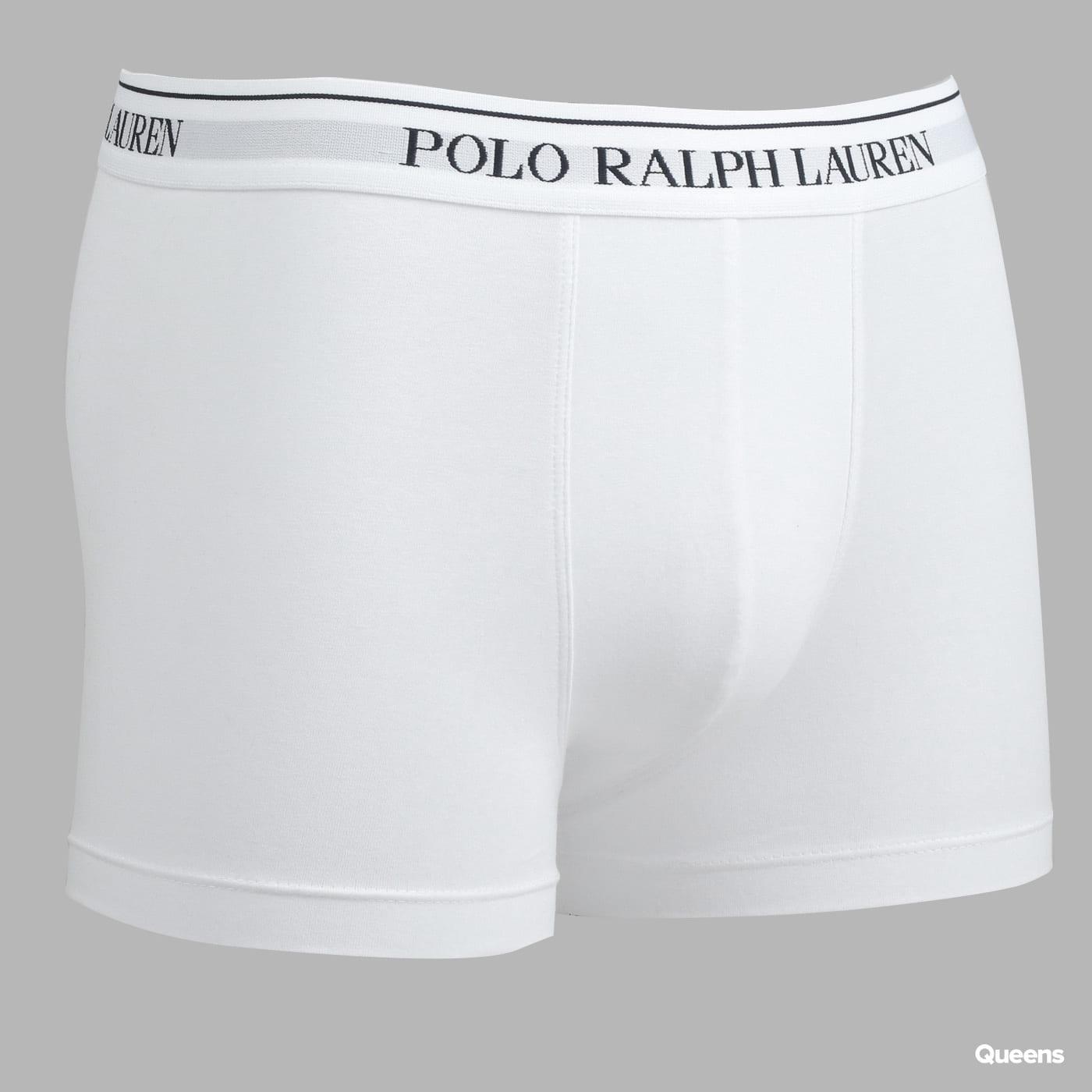 Polo Ralph Lauren 3 Pack Classic Trunks C/O melange šedé / biele / čierne
