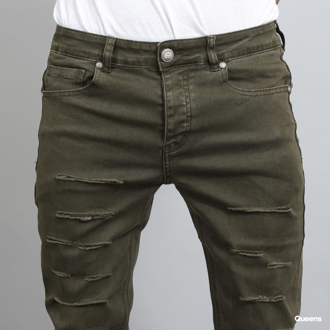 Sixth June Destroyed Jeans khaki
