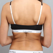 Calvin Klein Women's Bralette čierna / biela