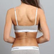 Calvin Klein Women's Bralette šedá / biela / čierna