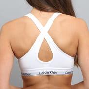 Calvin Klein Women's Bralette Lift C/O bílá / šedá / černá