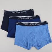 Polo Ralph Lauren 3 Pack Classic Trunks C/O modré / navy