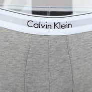 Calvin Klein 2 Pack Trunks Modern Cotton Stretch C/O černé / šedé