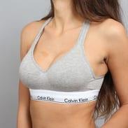 Calvin Klein Women's Bralette Lift C/O šedá / bílá / černá
