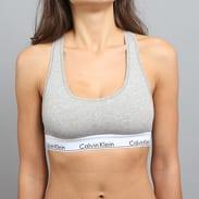 Calvin Klein Women's Bralette C/O melange šedé / bílé / černé