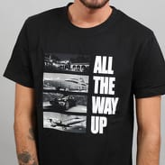 Urban Classics All The Way Up Stairway Tee černé