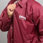 Thrasher Skate & Destroy Coach Jacket vínová