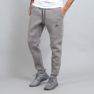 Nike NSW Tch Flc Jogger 3MM melange šedé