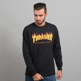 Thrasher Flame Logo LS Tee
