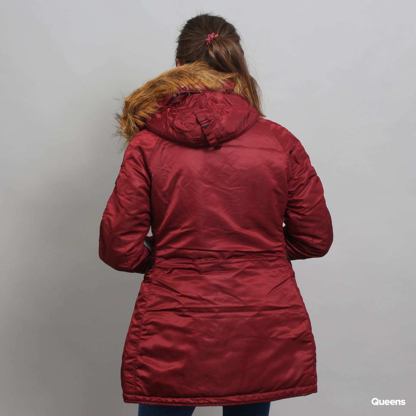 Alpha Industries N3B VF 59 WMNS burgund