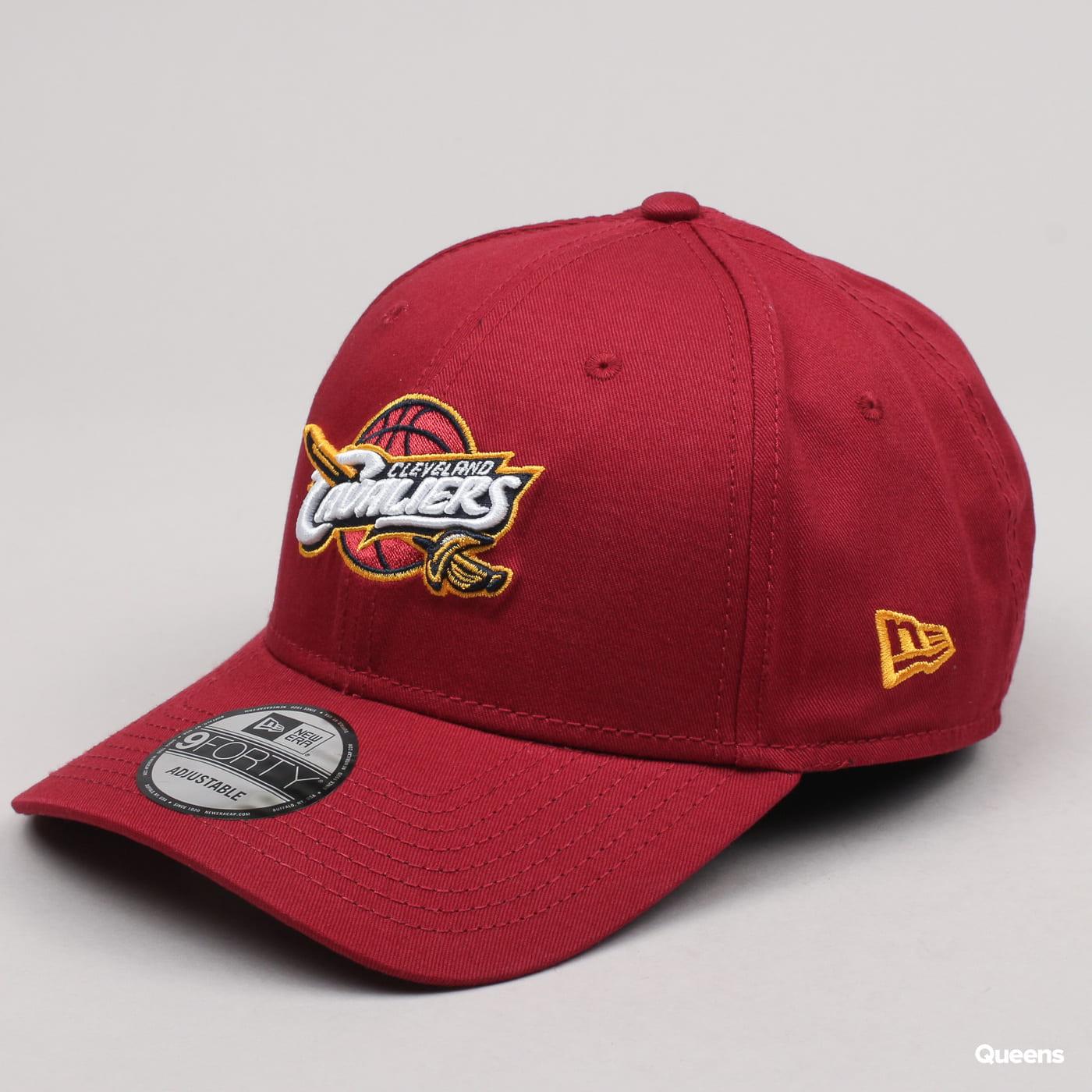 New Era 940 NBA Team Cleveland Cavaliers burgund