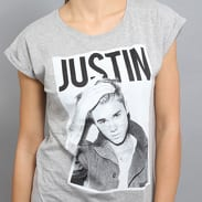 Urban Classics Ladies Justin Bieber melange šedé