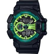 Casio G-Shock GA 400LY-1AER černé / zelené