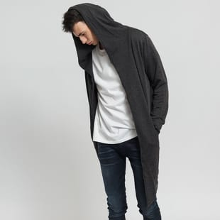 Urban Classics Long Hooded Open Edge Cardigan