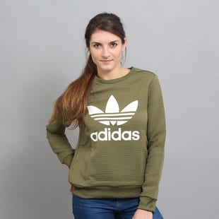 Dámská mikina adidas TRF Crew Sweater – Queens 💚 9ac3cacc8f6