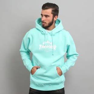 HUF x Thrasher Thrasher Tour De Stoops Hooded Sweatshirt světle modrá dda7adc135c