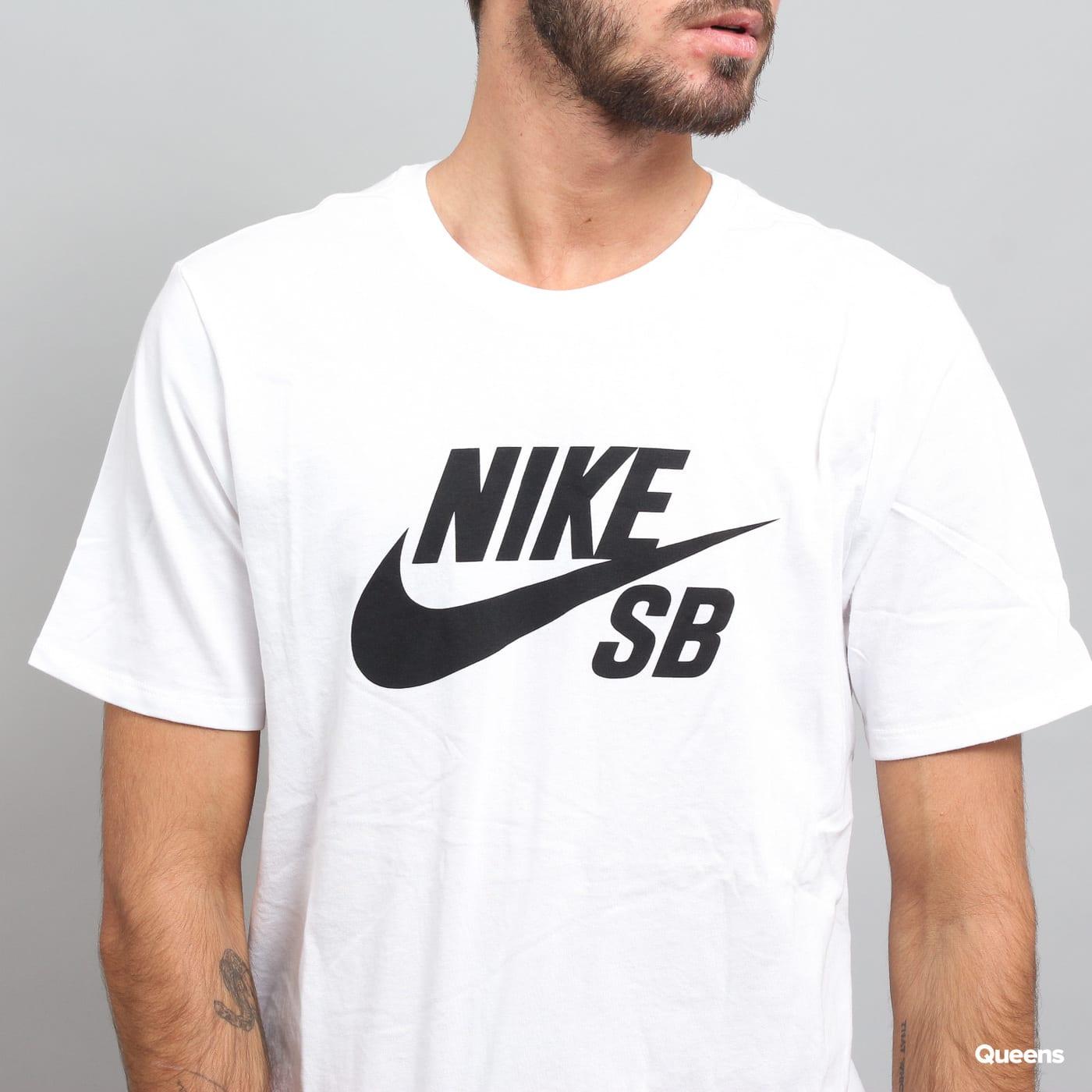 Nike SB Logo Tee biele