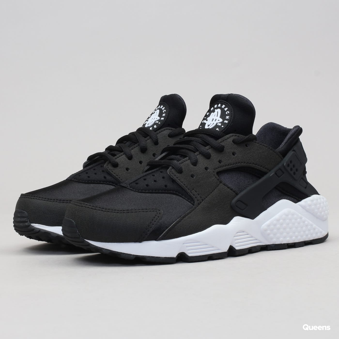 new product c94ea 4c97a Nike WMNS Air Huarache Run black / black - white