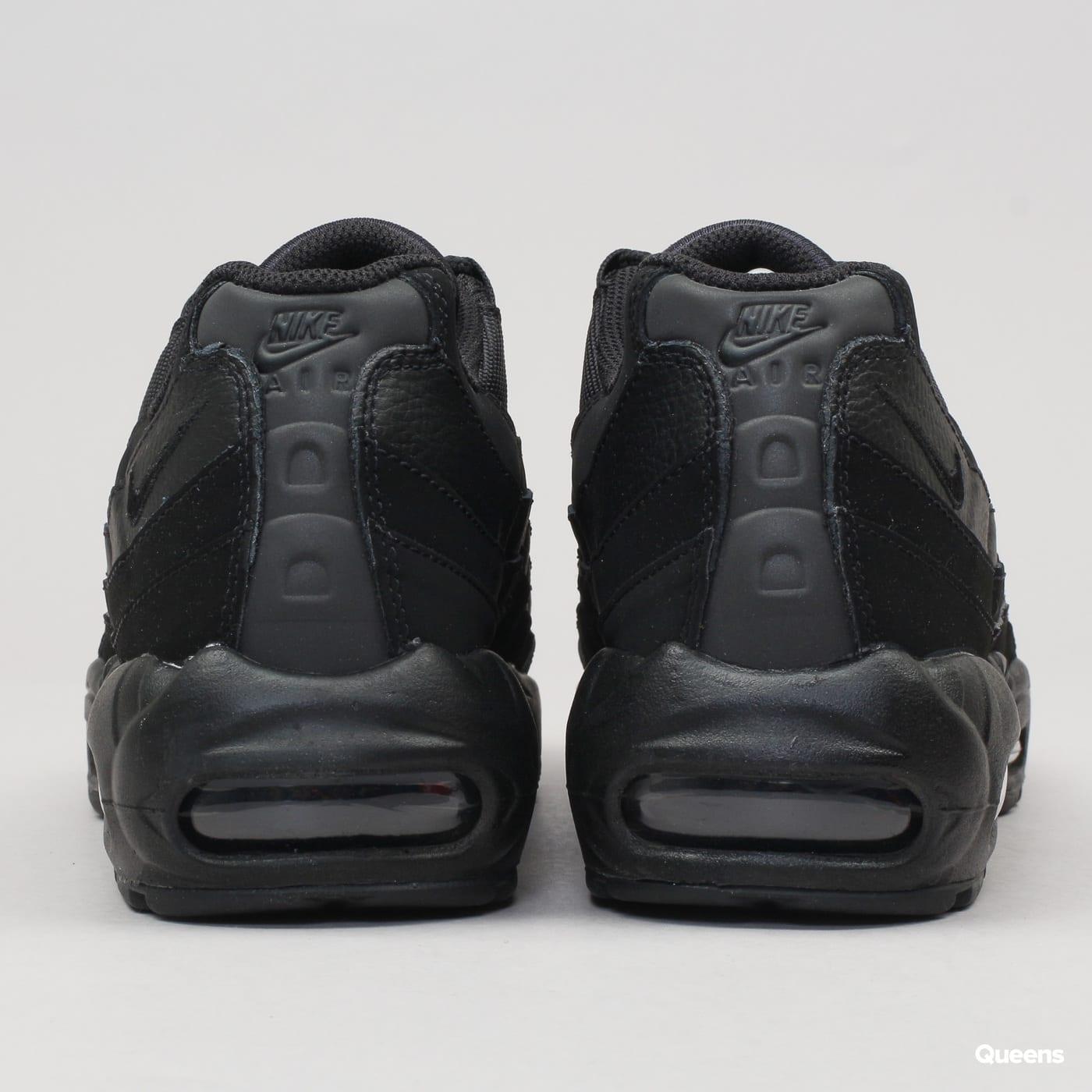 Nike Air Max 95 schwarz / schwarz - anthrazit
