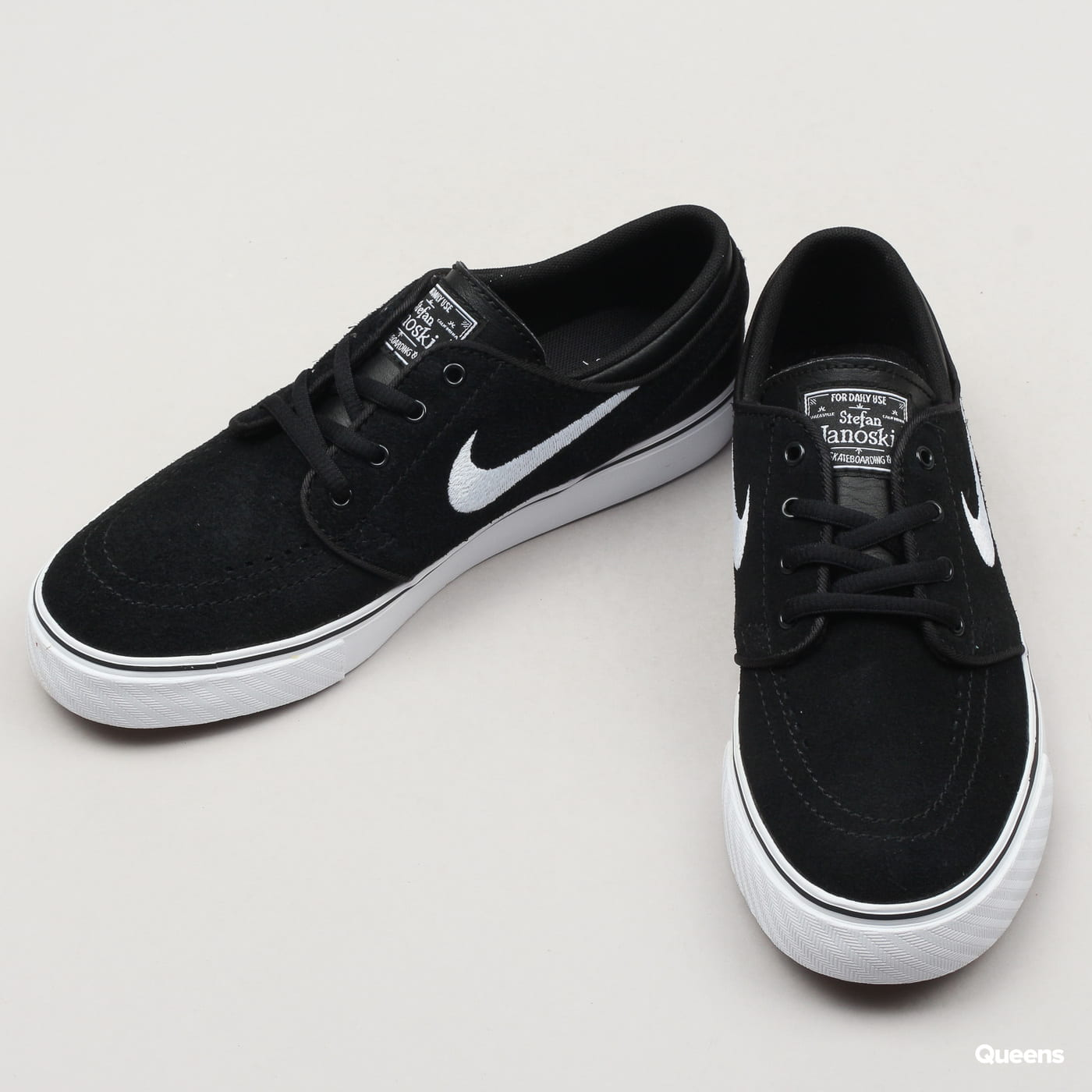 Nike SB Janoski (GS) black / white - gum med brown