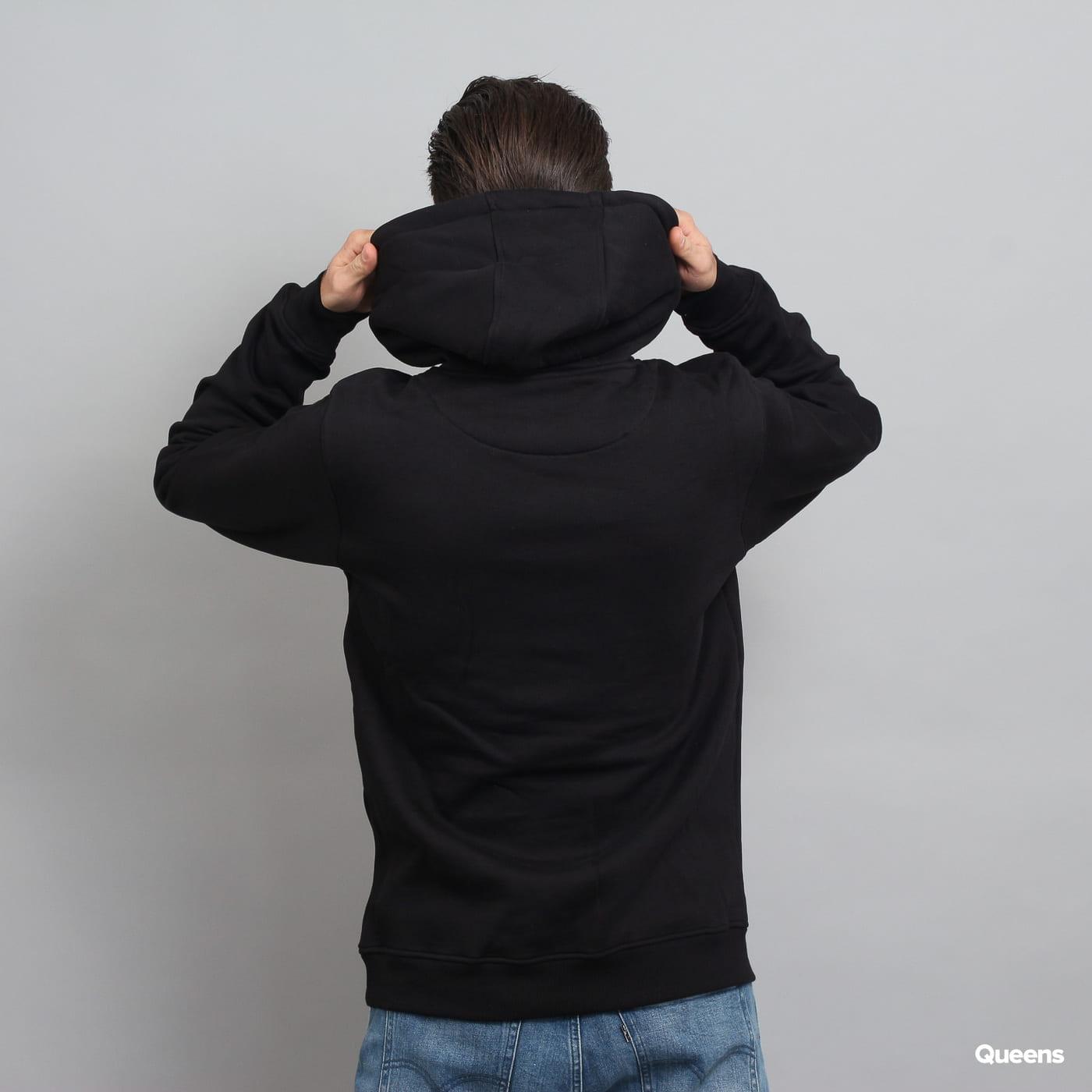 Urban Classics Pray 2.0 Hoody čierna