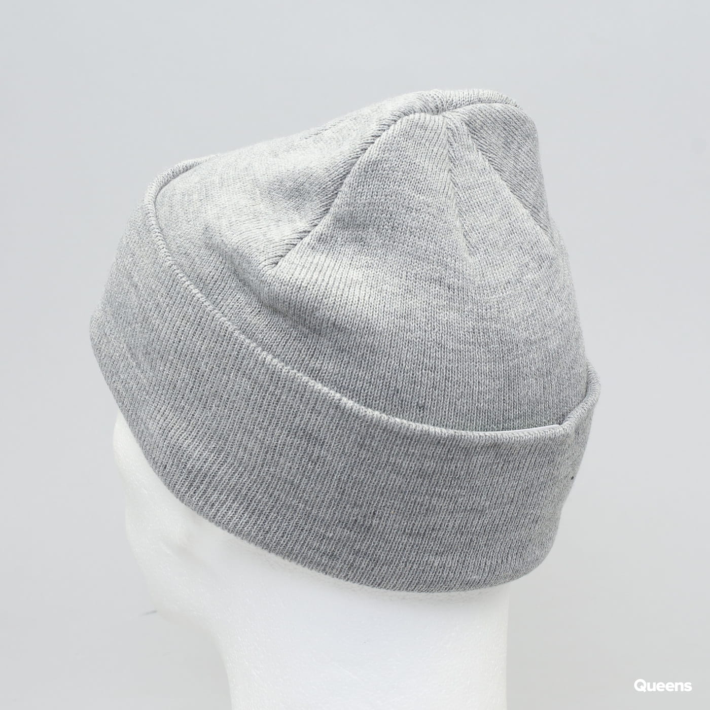 Urban Classics Wu-Wear Logo Beanie melange šedý