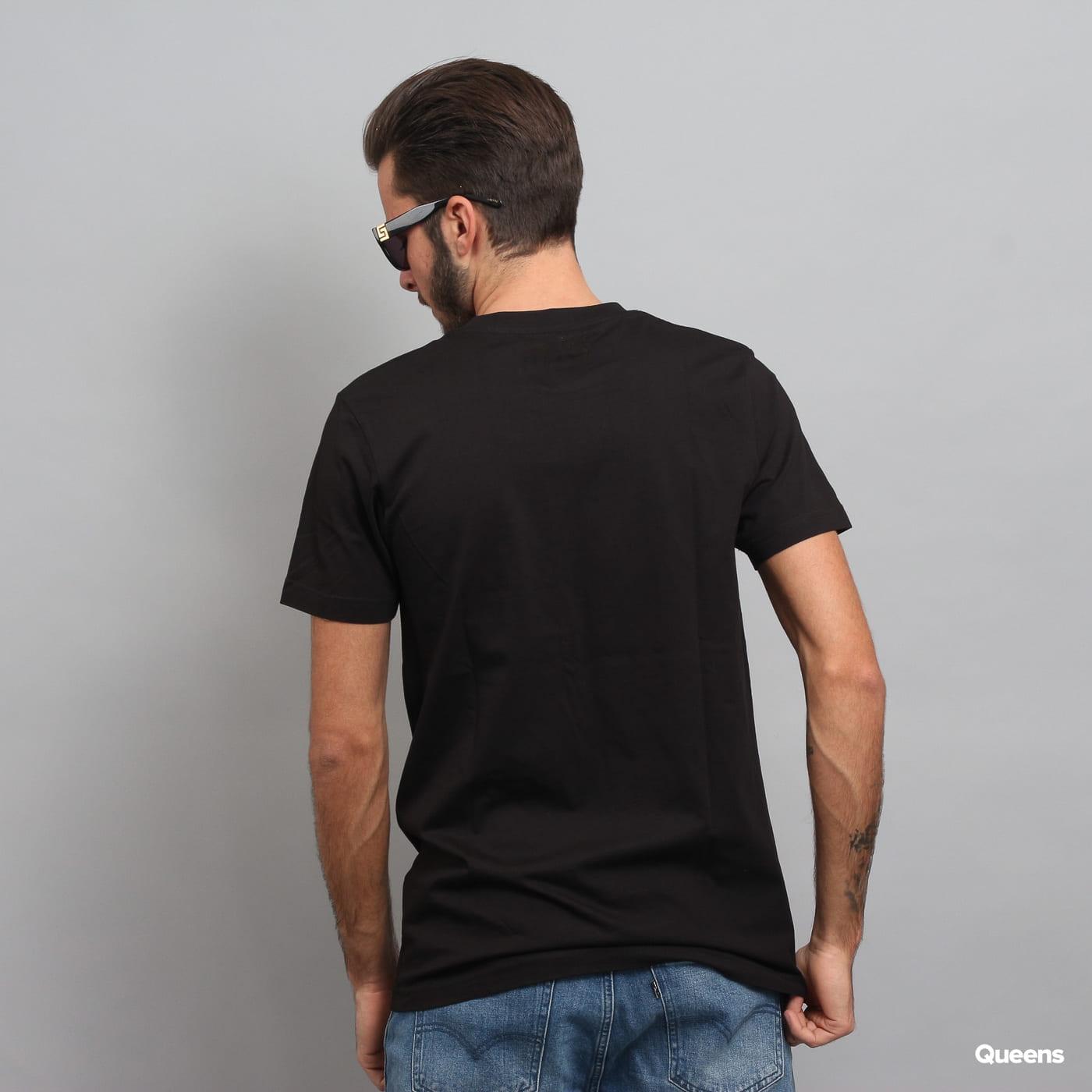WU WEAR Logo T-Shirt čierne
