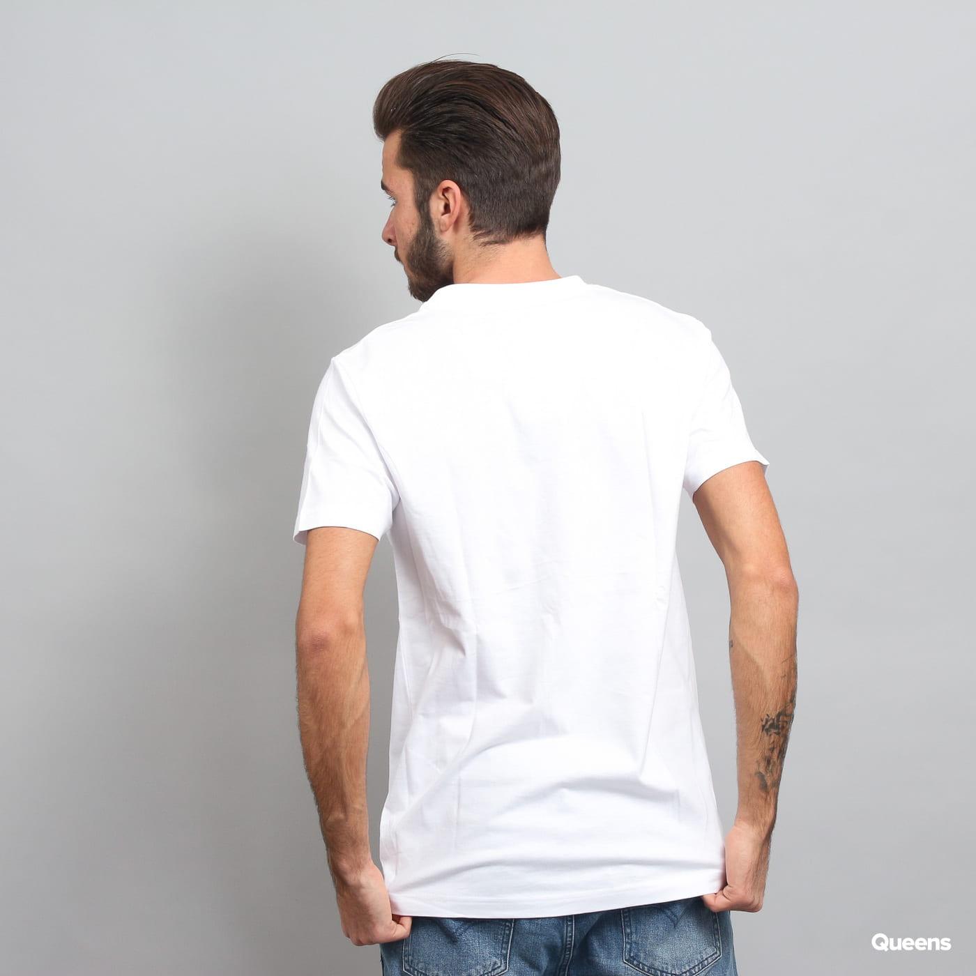 WU WEAR Logo T-Shirt bílé