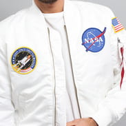 Alpha Industries MA - 1 VF NASA white