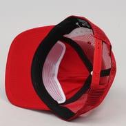 Thrasher Diamond Emblem Trucker Hat červená