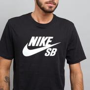 Nike SB Logo Tee černé