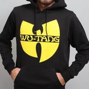 WU WEAR Logo Hoodie schwarz