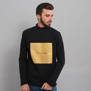 Soulland Ripped Turtleneck Sweatshirt